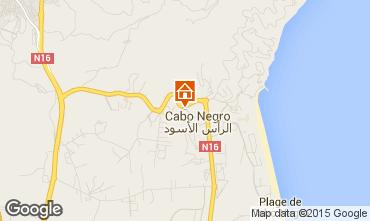 Mapa Cabo Negro Apartamento 78409
