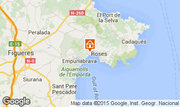 Mapa Rosas Apartamento 8303