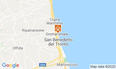 Mapa Grottammare Apartamento 83988