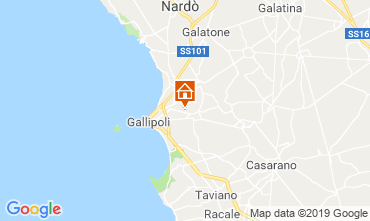 Mapa Gallipoli Villa 118430
