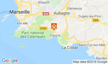 Mapa Cassis Villa 118042