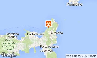 Mapa Rio nell'Elba Apartamento 77662