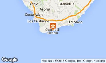 Mapa Costa del Silencio Apartamento 66629