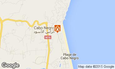Mapa Cabo Negro Apartamento 78772