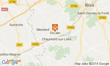 Mapa Onzain Mobil home 113114