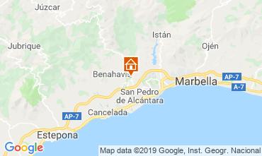Mapa Marbella Apartamento 117350