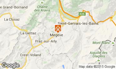 Mapa Meg�ve Apartamento 75629