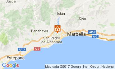 Mapa Marbella Villa 107876