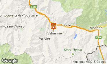 Mapa Valmeinier Chalet 3441