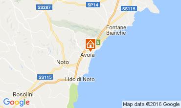 Mapa Avola Villa 75699