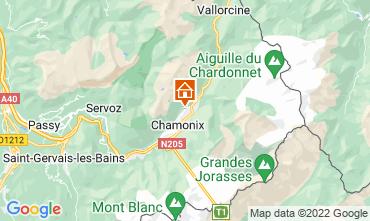 Mapa Chamonix Mont-Blanc Chalet 88059