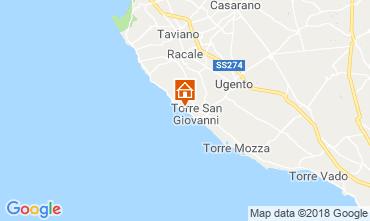 Mapa Ugento - Torre San Giovanni Apartamento 71810