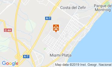Mapa Miami Playa Villa 113957