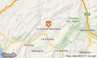 Mapa Le Grand Bornand Estudio 42969