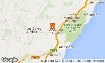 Mapa Alcoc�ber Casa rural 58320