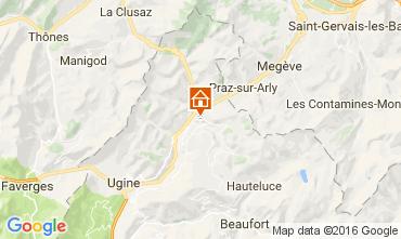 Mapa Notre Dame de Bellecombe Apartamento 107301