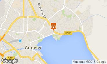 Mapa Annecy Apartamento 94359