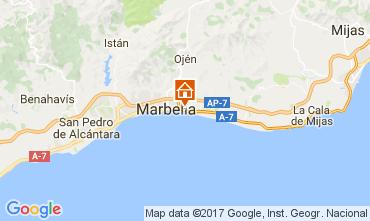 Mapa Marbella Villa 111253