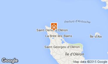Mapa Saint Denis d'Oléron Villa 80154