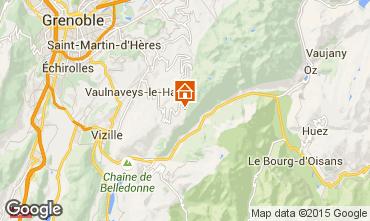 Mapa Chamrousse Apartamento 29263
