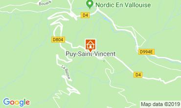 Mapa Puy Saint Vincent Apartamento 92347