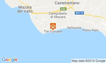 Mapa Mazara del Vallo Villa 105374