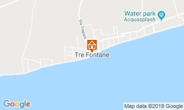 Mapa Tre Fontane Villa 105374