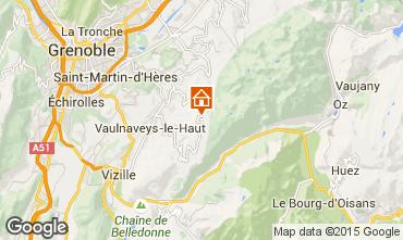 Mapa Chamrousse Apartamento 35627
