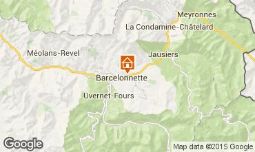 Mapa Barcelonnette Apartamento 79291