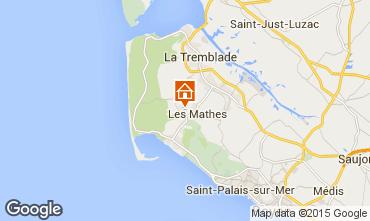 Mapa La Palmyre Mobil home 77782