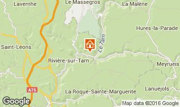 Mapa  Casa rural 92087