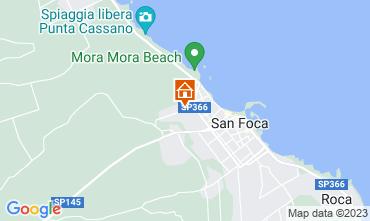Mapa San Foca Apartamento 108902