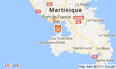 Mapa Trois Ilets Apartamento 107060