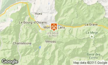 Mapa Les 2 Alpes Apartamento 40126