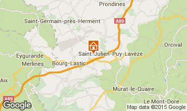 Mapa La Bourboule Casa 11843