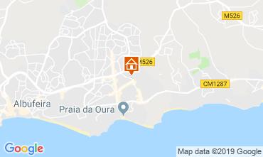 Mapa Albufeira Apartamento 111569