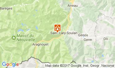 Mapa Saint Lary Soulan Estudio 4423