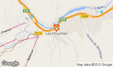 Mapa Les Houches Apartamento 97118