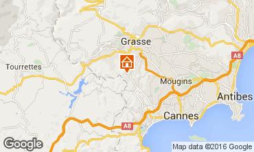 Mapa Cannes Villa 94671