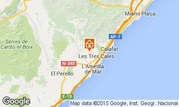 Mapa La Ametlla de Mar Villa 19594