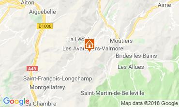 Mapa Valmorel Apartamento 117140