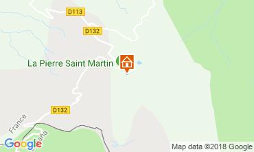 Mapa Arette La Pierre Saint Martin Estudio 117026