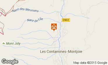 Mapa Les Contamines Montjoie Chalet 66813