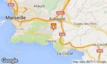 Mapa Cassis Villa 82021