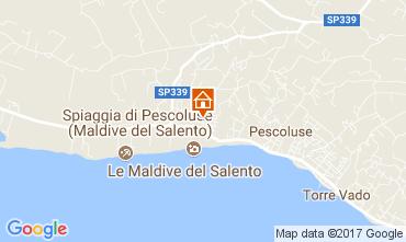 Mapa Pescoluse Apartamento 109200