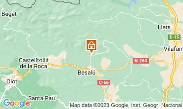 Mapa Figueras Casa rural 87906
