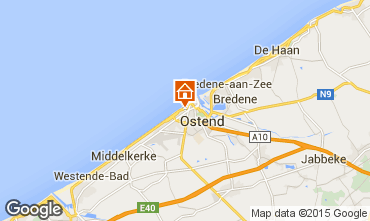 Mapa Ostende Apartamento 101727