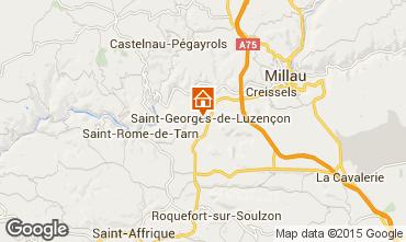 Mapa Millau Mobil home 68593