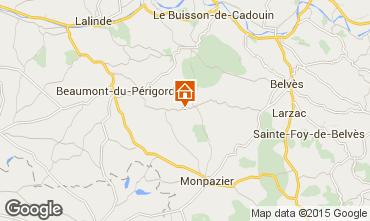 Mapa Monpazier Casa 101629