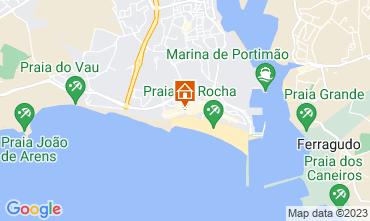 Mapa Praia da Rocha Apartamento 96534
